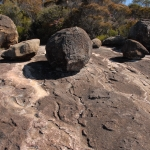 Granite weathering