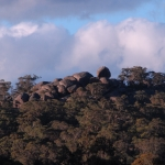Boulders on the skyline