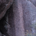 Water-worn granite