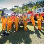 Firesticks Training at Yarrawarra Cultural Centre May 2014 - Burn 1