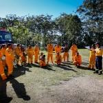 Firesticks Training at Yarrawarra Cultural Centre May 2014 - Burn 2