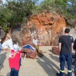 Firesticks Training at Yarrawarra Cultural Centre May 2014 - Train 5