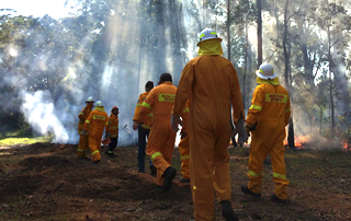 Feature - Firesticks Training at Yarrawarra Cultural Centre May 2014