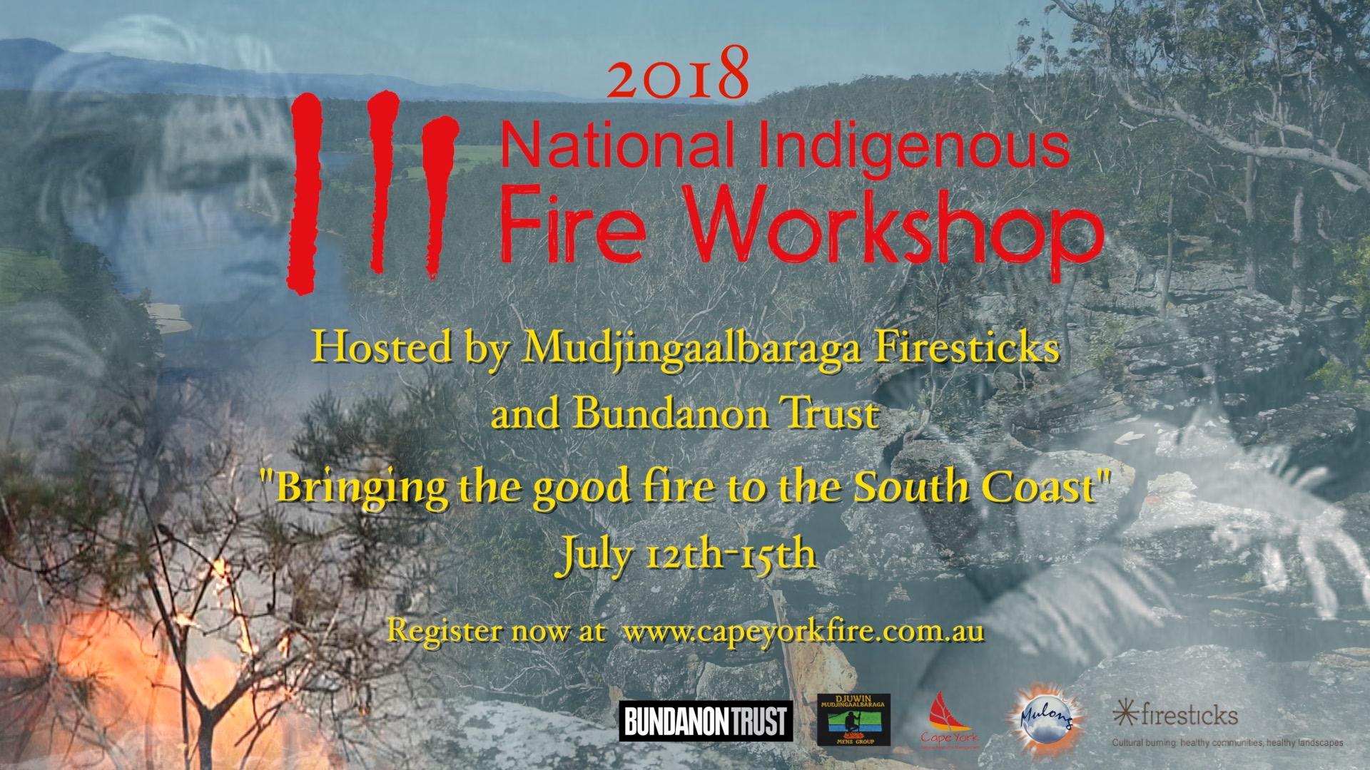 2018 National Indigenous Fire Workshop